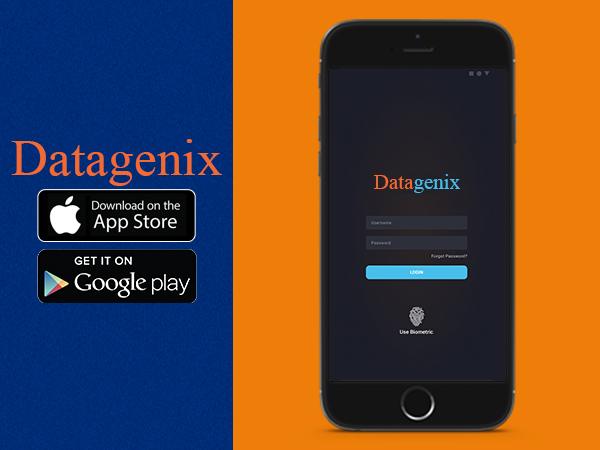 Datagenix Mobile Application